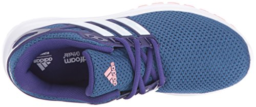 adidas Damen Fluidcloud W Turnschuhe Collegiate Purple/White/Ray Pink Fabric