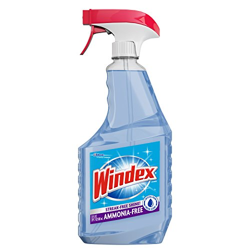 Windex Crystal Rain Glass Cleaner Trigger, 6 ct, 23 fl oz by Windex