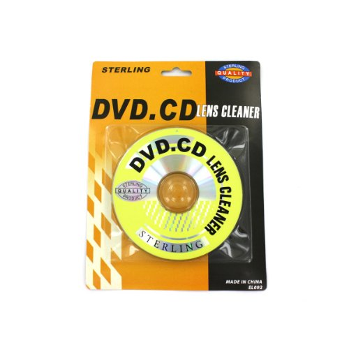 72 Pack of CD and DVD lens cleaner by Sterling