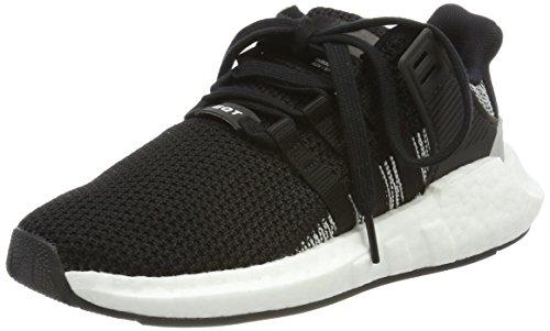 adidas Unisex-Erwachsene EQT Support 93/17 Sneaker Schwarz (Core Black/Footwear White)