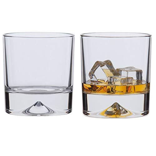 Dartington Crystal Dimple Double Old Fashioned Whisky Glasses TU10/5/P 24% Lead Crystal Misc darlington