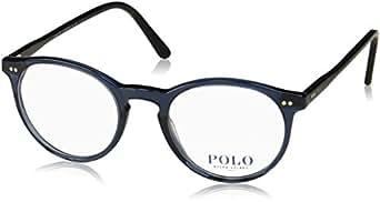 Polo Ralph Lauren 0PH2083, Monturas de Gafas para Hombre, Azul (Blue Transparent), 46