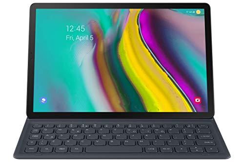 Samsung Galaxy Tab S5e Book Cover Keyboard, Black, Model:EJ-FT720UBEGUJ