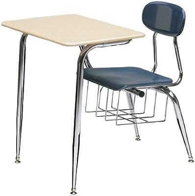 Peachy Amazon Com 680 Series Combo School Desk Fiberboard Top Pdpeps Interior Chair Design Pdpepsorg