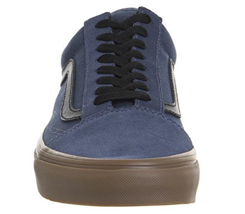Adulto Skool Vans Old Zapatillas U Azul Unisex qxqfwZX7P