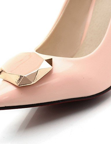 GGX/Damen Schuhe Patent Leder Sommer/spitz Toe Heels Büro & Karriere/Casual Stiletto Heel Pailletten Schwarz/Pink/Beige pink-us7.5 / eu38 / uk5.5 / cn38