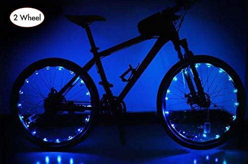 AIKATE Luces para Rueda de Bicicleta, 20 Tiras de Luces LED ...