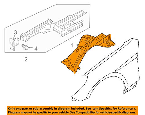 HYUNDAI OEM 10-12 Genesis Coupe-Front Fender Apron Panel Cover Right ()