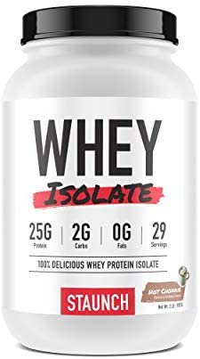 Staunch Whey Isolate Hot Chokkie 2 LBS – Premium, High Quality Chocolate Flavored Whey Protein Isolate