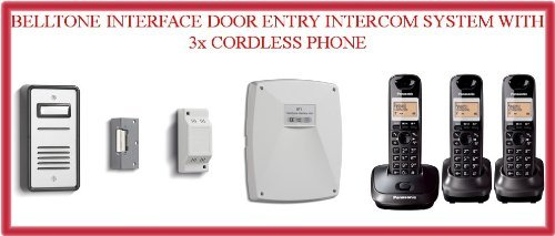 Intercom System Telephone Interface - TC212- BELL SYSTEM BT901 BELLTONE INTERFACE DOOR ENTRY INTERCOM SYSTEM WITH 3x CORDLESS PHONE
