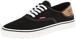 Levis Men's Jordy Buck Fashion Sneaker,Red/Brown,8 M US