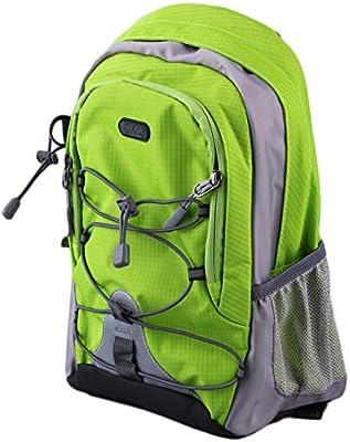 Jiobapiongxin Mochila de Viaje para Correr al Aire Libre de Nylon Impermeable y Ligera para Mochila de montaña de Ocio de la Escuela Paquetes de 15 litros ...