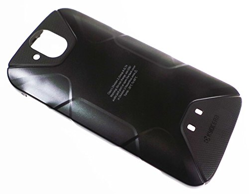 Simply Silver - New AT&T Kyocera Duraforce PRO E6820 Battery Door Back Cover Black - Unbranded (Door Rubberized Battery)