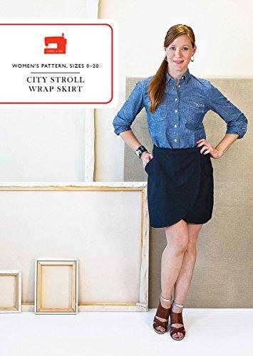 Stroll Wrap Around - City Stroll Wrap Skirt Sewing Pattern