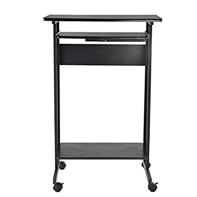 Tenive Ergonomic Corner Office Desk Workstation -L Shape Computer Desk Home Furniture