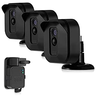 Blink XT2 Camera Mounts, Mrount Outdoor Weather Proof Housing with Adjustable Mount for Blink XT2/XT Cameras Home Security System, 3 Pack (Black)