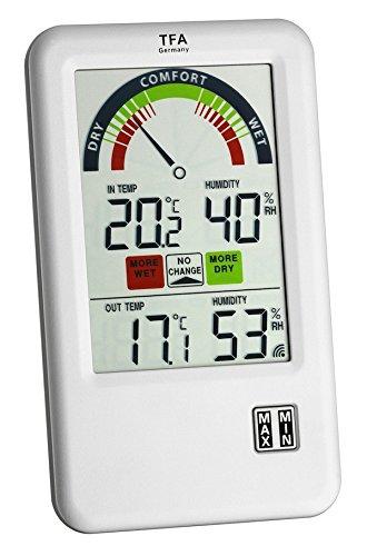 TFA Dostmann Funk-Thermo-Hygrometer Bel-Air 30.3045