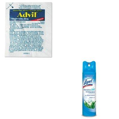 KITLIL58030RAC76938EA - Value Kit - Advil Single-Dose Ibuprofen Tablets Refill Packs (LIL58030) and Neutra Air Fresh Scent (RAC76938EA)