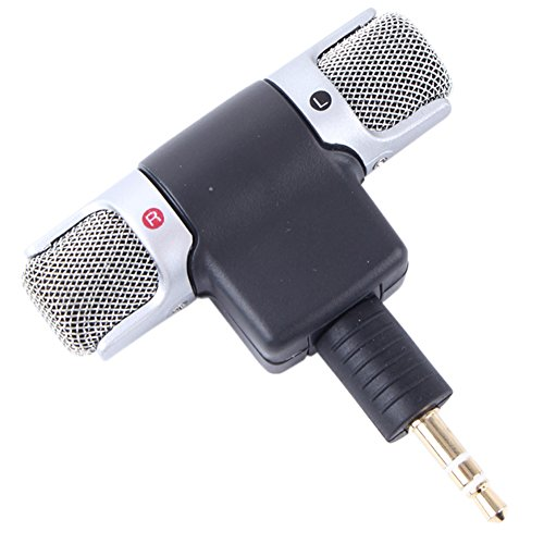 Mini Portable Digital Stereo Microphone Recorder for Sony MIC-DS70P Computer Recorder