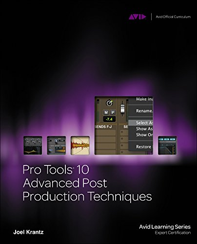 d Post Production Techniques (Avid Learning) ()
