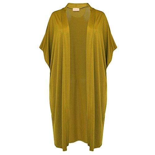 Verso Fashion - Cárdigan - para mujer verde oliva