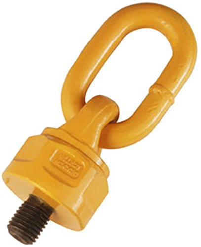 08mm Grade 80 Swivel Eye Bolt Lifting Point With Link in Sizes 8-36mm