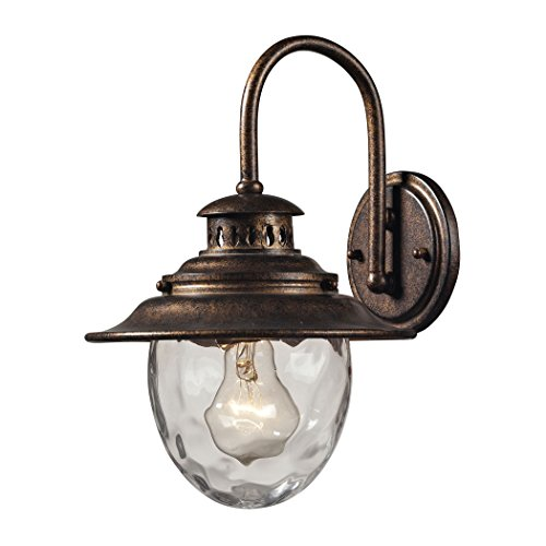 Searsport 1 Light Outdoor Sconce In Regal Bronze