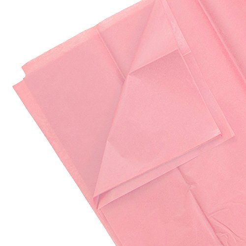 Pink Color Tissue Paper - 10 sheets per pack
