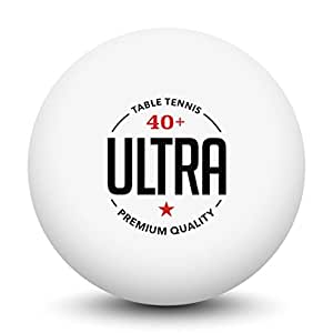 Ultra table tennis 50 practice ping pong for 1 star table tennis balls