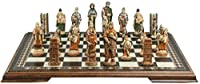 Battle of Hastings Themed Chess Set - 4.5 Inches - In Presentation Box - Handmade and Hand-painted in UK