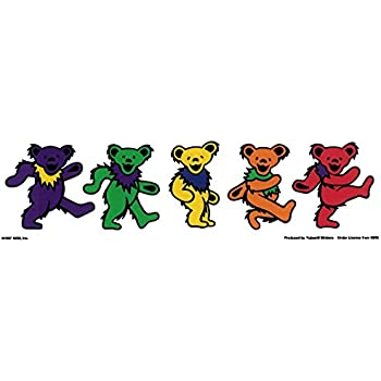 527509348fb Amazon.com  Grateful Dead – 5 Jerry Bears On Clear Background – 9.5 ...