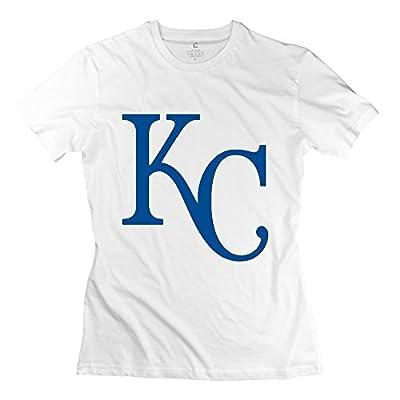 Fashion Kansas City Royals KC Women's Tshirt White