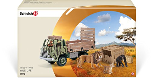 Schleich Safari Animal Rescue Truck Play Set
