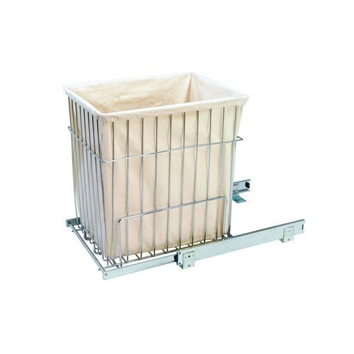 - Hamper Baskets, Wire Heavy Duty Pull-Out Hampers