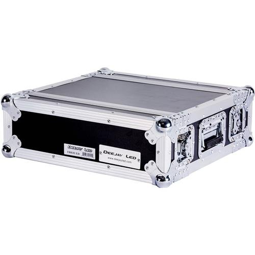 Flight Case 3u Effect Case-engineered To Hold 3u Effect Units In 14-inch Standard Depth Complete With Removable Front & Rear Covers Pre-tapped Rack Rails With Mounting Hardware DEEJAY LED TBH3UED