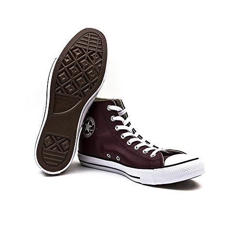 Sea Femme Deep Hautes Sneakers Converse Lea Hi Black Bordeaux White CTAS 6qUwZw75