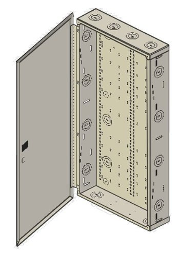 (Benner-Nawman 14284-MMH Structured Wiring Cabinets, 14-1/4-Inch X 28-Inch X 4-Inch, White)