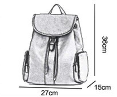 Bolso de hombro de nylon ocasional del paño de Oxford de la manera, bolsos, bolso de la momia, morral del recorrido ( Color : Negro ) Azul oscuro
