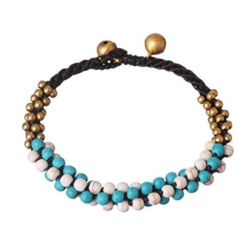 Jiayiqi Femmes Ethnique Boho Brassard Bracelets Mini Unique Artistique Bracelet De Perles