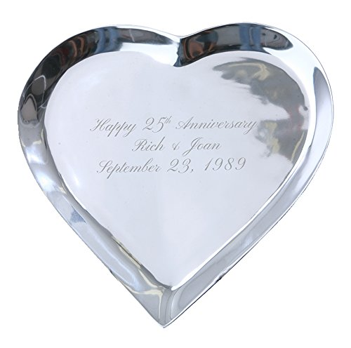 Signature Keepsakes Platter POCG126 Signature, Medium, Silver (Keepsake Platter Signature)