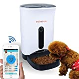 INSTACHEW Smart Pet Feeder HD Camera, Portion Control, scheduled Instant Feeding, APP Enabled