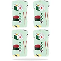 Skin For DJI Inspire 1 Drone Battery (4 pack) – Sushi   MightySkins Protective, Durable, and Unique Vinyl Decal wrap cover   Easy To Apply, Remove, and Change Styles   Made in the USA