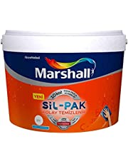 MARSHALL Sil-Pak Silinebilir Silikonlu Duvar Boyası 7,5 L