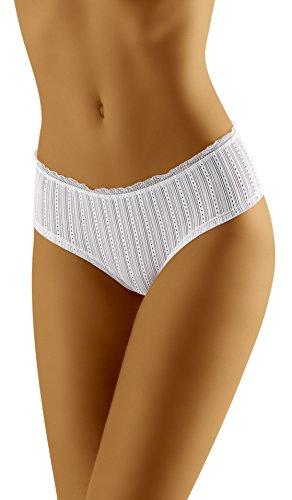 Wolbar Bragas para Mujer WB72 Blanco