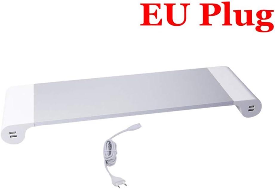 ProBASE HD Support Moniteur et Ordinateur Portable avec Concentrateur USB Mallalah Support Rehaussement dAlliage Affichage HDMI Station dAccueil pour MacBook Pro