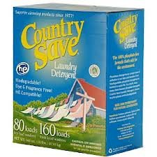 2-PACK Country Save HE Laundry Detergent Powder, 160-Load