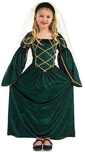 [Fun Shack Child Tudor Princess Costume - AGE 10 - 12 YRS (XL) by Fun Shack] (Swan Princess Costume)
