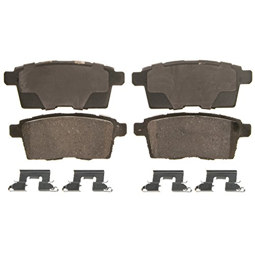 - Wagner QuickStop ZD1259 Ceramic Disc Pad Set Includes Pad Installation Hardware, Rear