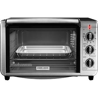 BLACK+DECKER TO3230SBD Stainless Steel Toaster Oven