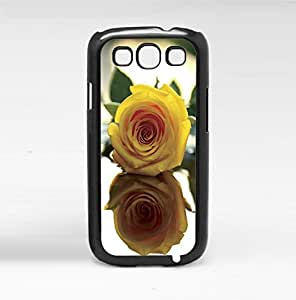 Pretty Yellow Rose Hard Snap on Phone Case (Galaxy s3 III)